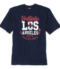 Adamo grote maat t-shirt donkerblauw Authentic Los Champs