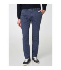 Pioneer chino stretch grote maat blauw model Robert
