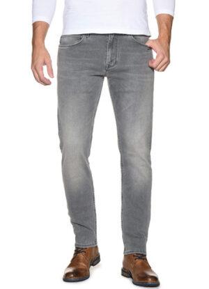 Mustang lengte maat stretch jeans grijs model Oregon