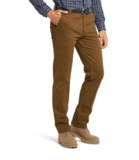 LCDN grote maat casual stretch chino camel