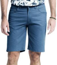 Pioneer grote maat stretch korte broek blauw