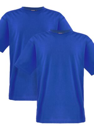 Adamo grote maten t-shirts royalblue