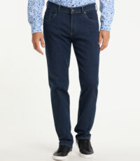 Pioneer grote maat stretch jeans blauw model Thomas