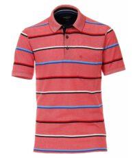 Casa Moda grote maat poloshirt rood, wit, blauw en zwart