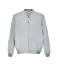 Canson grote maat blouson zomer jack lichtgrijs