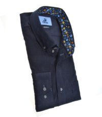 Culture mouwlengte7 overhemd donkerblauw button downCulture mouwlengte7 overhemd donkerblauw button down