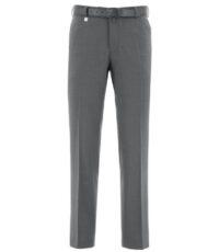Duke grote maat stretch pantalon grijs
