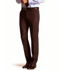 Meyer grote maat stretch pantalon bruin U-band