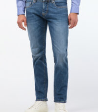 Pierre Cardin grote maat stretch jeans lightstone washed