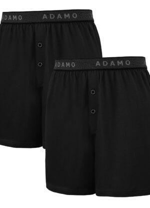 Adamo grote maat boxershorts zwart stretch