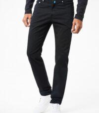 Pierre Cardin grote maat casual 5 pocket stretch jeans zwart