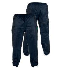 D555 grote maat regenbroek donkerblauw