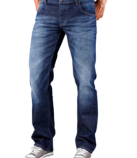 Mustang lengte maat stretch jeans blue used Michigan