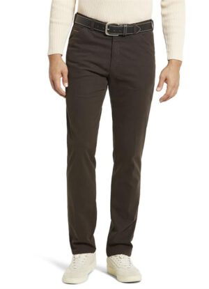 Meyer grote maat stretch chino bruin