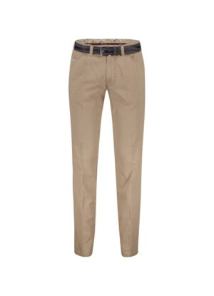 LCDN grote maat casual stretch chino khaki