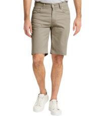 Pioneer grote maat stretch korte broek beige