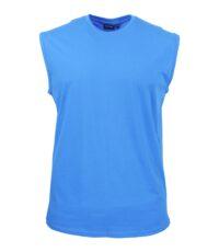 Redfield grote maat mouwloos t-shirt aqua