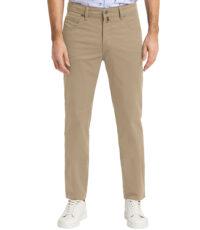 Pioneer grote maat casual stretch jeans beige model Peter