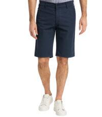 Pioneer grote maat chino stretch korte broek donkerblauw