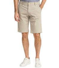 Pioneer grote maat chino stretch korte broek beige