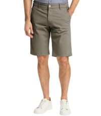 Pioneer grote maat chino stretch korte broek khaki