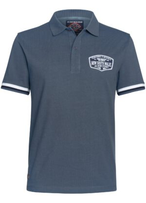 Ahorn grote maat poloshirt korte mouw middenblauw New South Wales