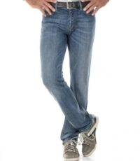 Alberto lengte maat stretch jeans blue stone washed
