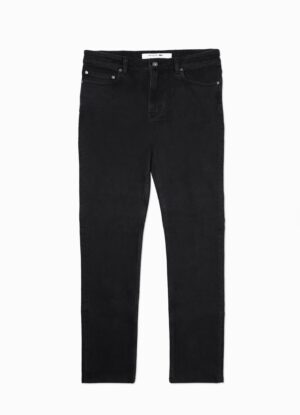 Lacoste grote maat stretch jeans zwart