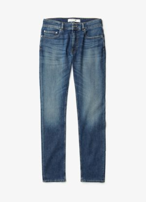 Lacoste grote maat stretch jeans blauw stonewashed