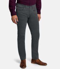 Pioneer lengte maat casual stretch jeans donkergrijs